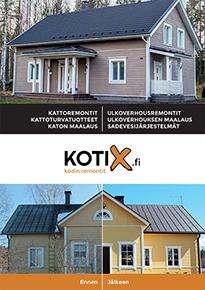 Kattoremontti esite Kotix Oy